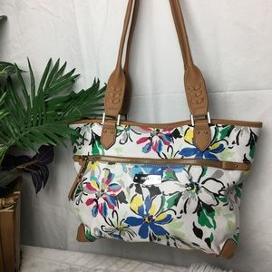 Rosetti Floral Shoulder Purse